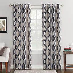 Sun Zero® Courtney Room Darkening Grommet Top Window Curtain Panel (Single)