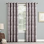 Sun Zero Darren 63-inch Grommet Room Darkening Window Curtain Panel in Thistle