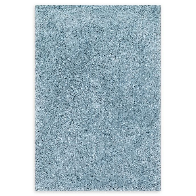 Alternate image 1 for Loloi Rugs Cozy Shag 9'3 x 13' Loomed Area Rug in Light Blue