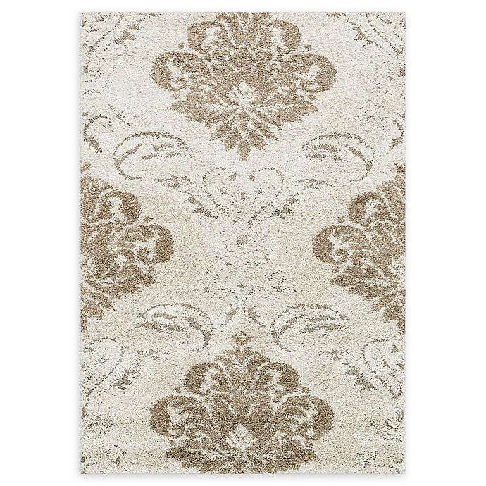 Alternate image 1 for Loloi Rugs Enchant Medallion 3'10 x 5'7 Power-Loomed Accent Rug in Ivory/Beige
