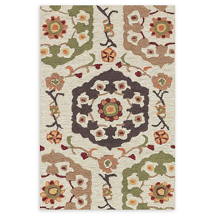 Alternate image 1 for Loloi Rugs Francesca 2'3 x 3'9 Handcrafted Multicolor Accent Rug