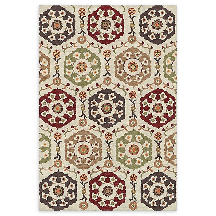 Alternate image 1 for Loloi Rugs Francesca 3' Round Handcrafted Multicolor Accent Rug