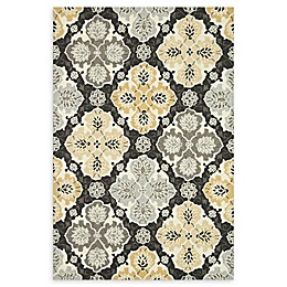 Loloi Rugs Francesca Medallion Handcrafted Area Rug in Charcoal