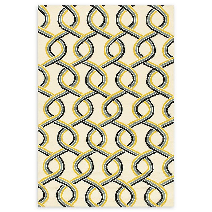 Alternate image 1 for Loloi Rugs Venice Beach Abstract 9'3 x 13' Area Rug in Ivory