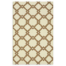 Loloi Rugs Venice Beach Arabesque Rug in Ivory/Taupe