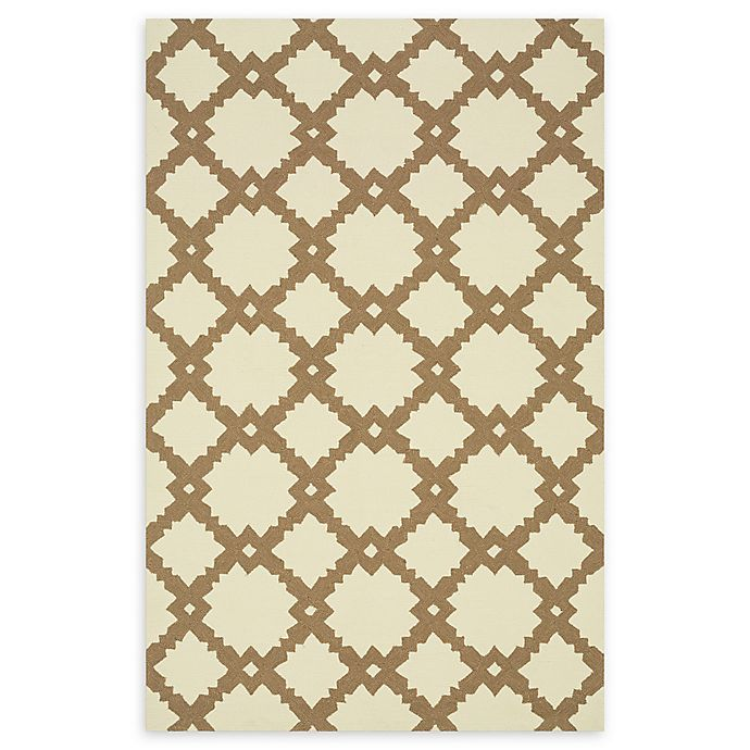 Alternate image 1 for Loloi Rugs Venice Beach Arabesque 9'3 x 13' Area Rug in Ivory/Taupe