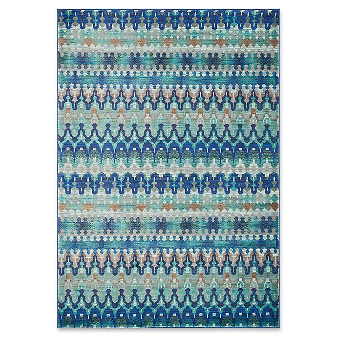Alternate image 1 for Loloi Rugs Madeline Multicolor Stripe 2' x 3' Accent Rug in Blue
