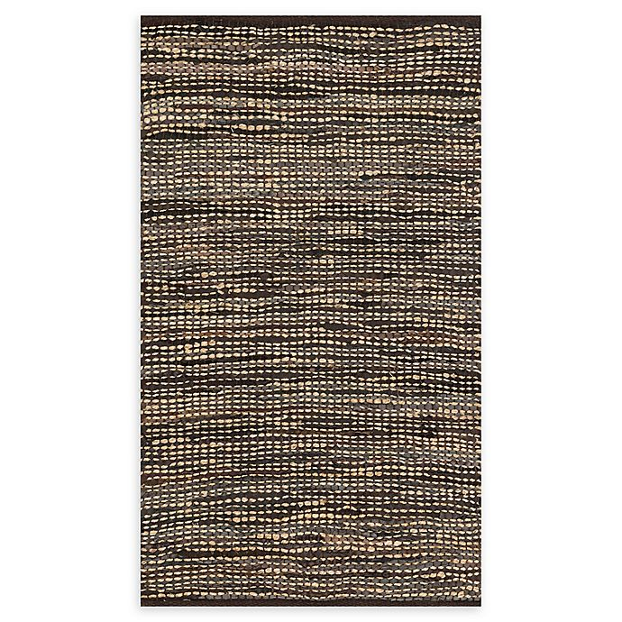 Alternate image 1 for Loloi Rugs Edge 2'3 x 3'9 Handwoven Accent Rug in Brown