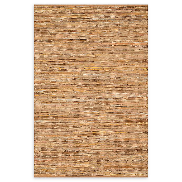 Alternate image 1 for Loloi Rugs Edge 5' x 7'6 Handwoven Area Rug in Tan
