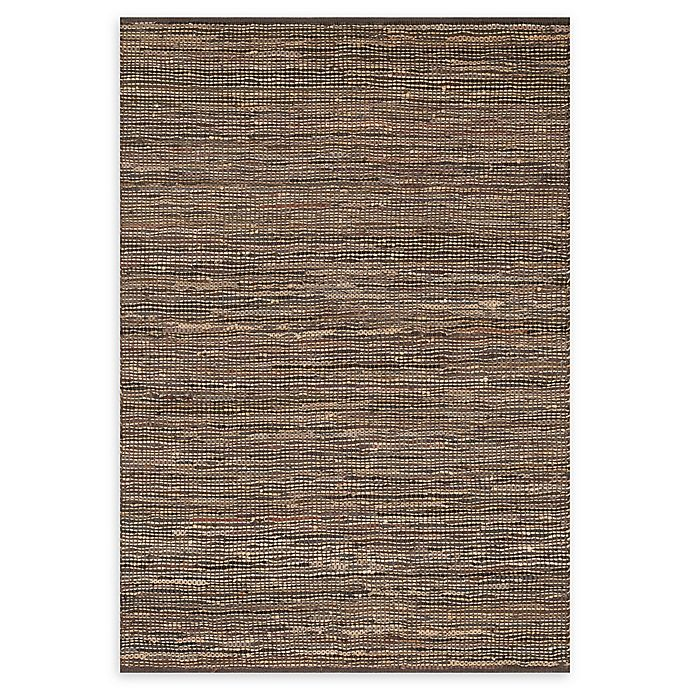 Alternate image 1 for Loloi Rugs Edge 5' x 7'6 Handwoven Area Rug in Brown
