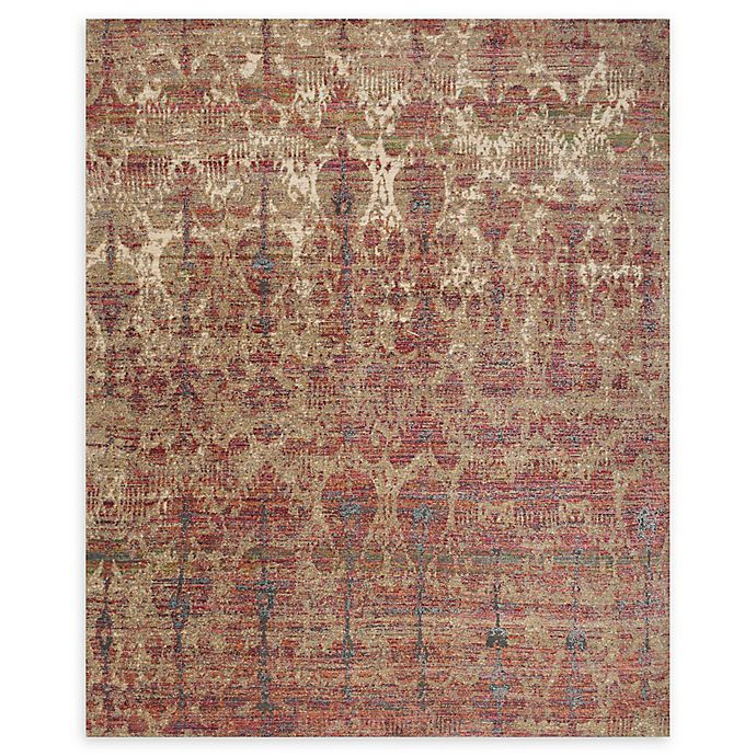Alternate image 1 for Loloi Rugs Javari 3'7 x 5'2 Area Rug in Drizzle/Berry