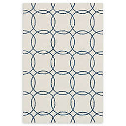 Loloi Rugs Panache Handcrafted Rug in Ivory/Blue