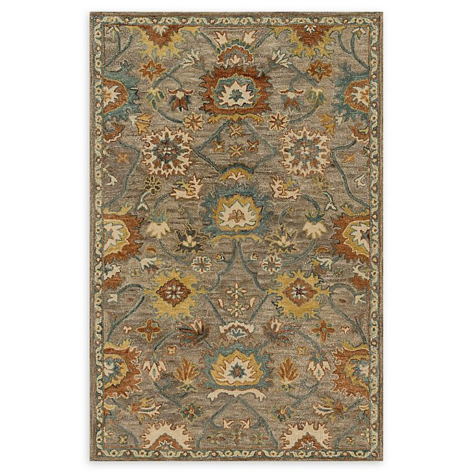Alternate image 1 for Loloi Rugs Underwood 2'6 x 7'6 Handcrafted Runner in Taupe/Blue