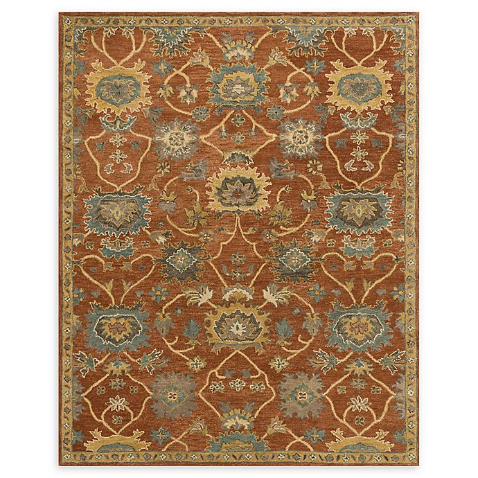 Alternate image 1 for Loloi Rugs Underwood 7'9 x 9'9 Handcrafted Area Rug in Rust/Gold