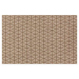 Loloi Rugs Isle Diamond Indoor/Outdoor Rug in Beige/Mocha