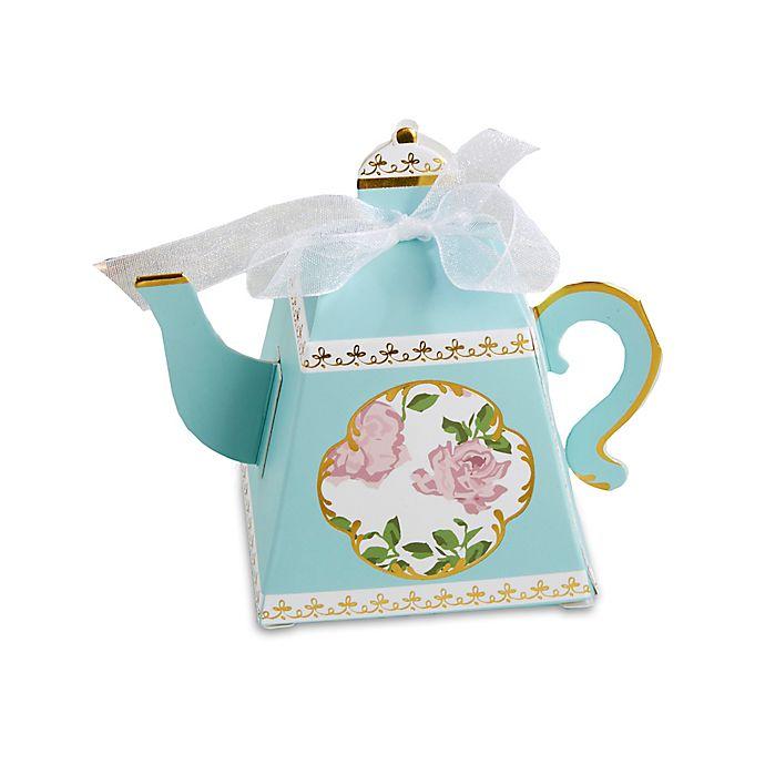 Alternate image 1 for Kate Aspen® 24-Pack Tea Time Whimsy Teapot Favor Boxes