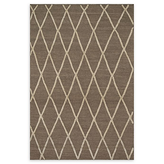 Alternate image 1 for Loloi Rugs Addler Lattice 3'6 x 5'6 Area Rug in Taupe