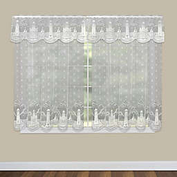 Heritage Lace® Lighthouse Window Curtain Panel and Valance