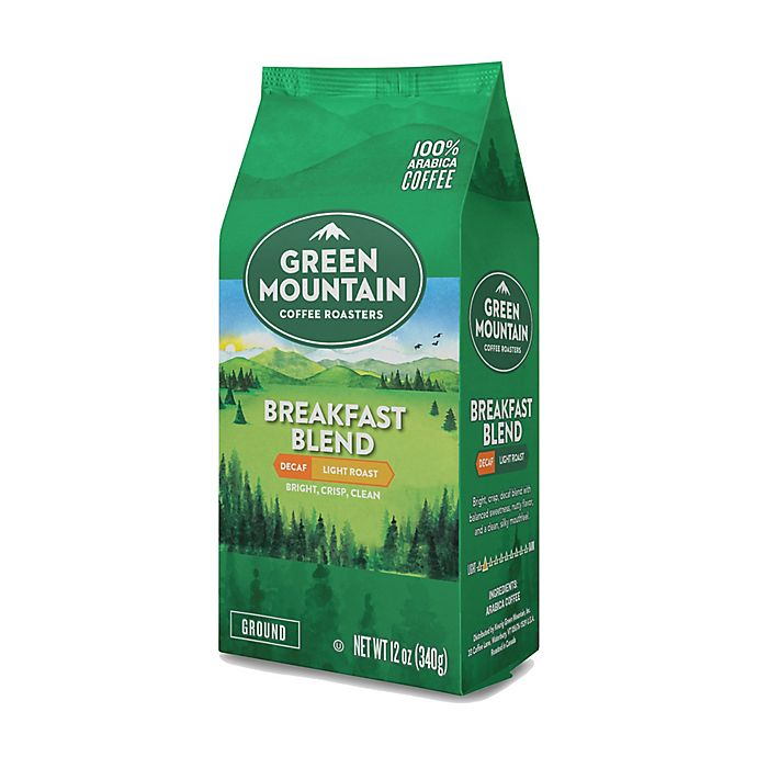 Alternate image 1 for Green Mountain Coffee® 12 oz. Breakfast Blend Decaf Ground Coffee