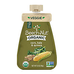Beech-Nut® Organic Stage 2 Corn, Kale, and Quinoa Veggie Purée