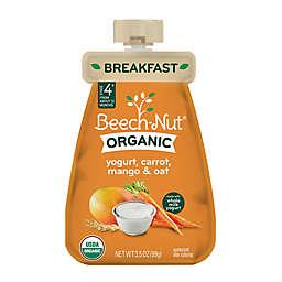 Beech-Nut® 3.5 oz. Stage 4 Organic Yogurt, Carrot, Mango & Oat Breakfast