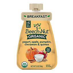 Beech-Nut® Organic Stage 4 Yogurt, Apple, Pumpkin, Cinnamon and Quinoa Breakfast Purée