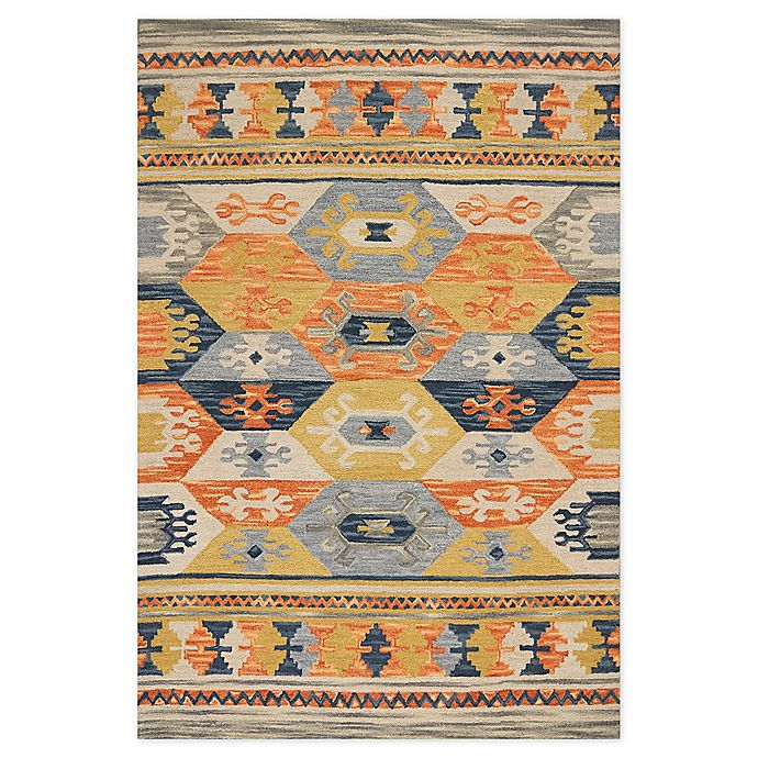 Kas Lisbon Mission Area Rug In Grey