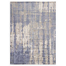 Kas Indulge Drizzle 3'3 x 5'3 Area Rug in Grey