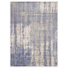 Kas Indulge Drizzle Area Rug in Grey