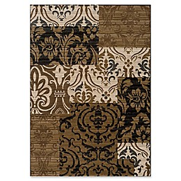Momeni Dream Tiled Power-Loomed 9'3 x 12'6 Area Rug in Ivory