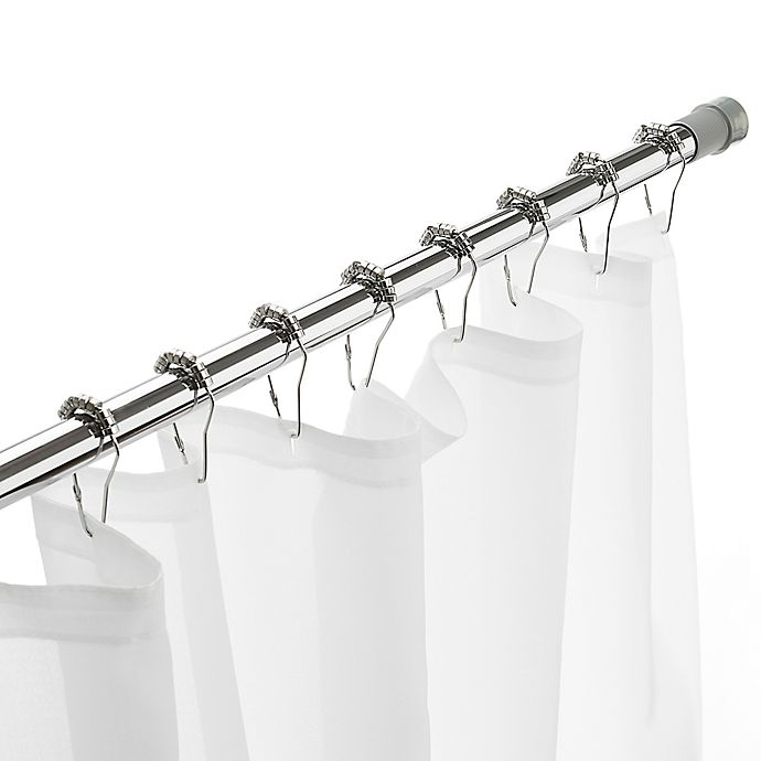 Alternate image 1 for Excell Glide N Set 40-Inch to 86-Inch Adjustable Tension Rod in Chrome