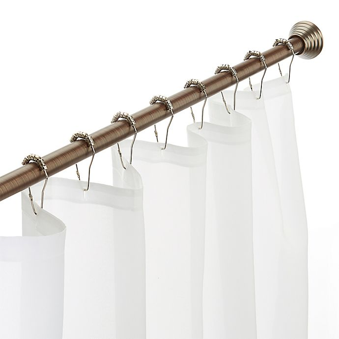 Alternate image 1 for Excell Glide N Set 40-Inch to 72-Inch Millennium Tension Rod in Oil Rubbed Bronze