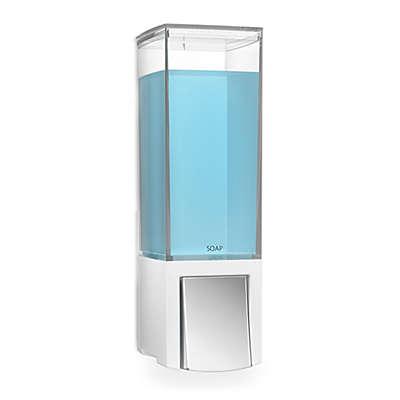 Better Living Clever Soap Dispenser in White/Chrome