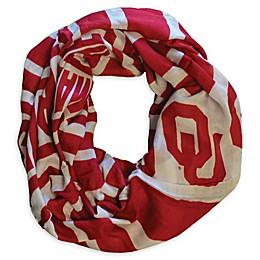 University of Oklahoma Sheer Print Woman's Infinity Scarf
