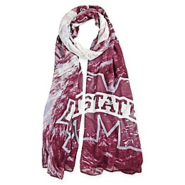 Mississippi State University Watercolor Woman's Scarf