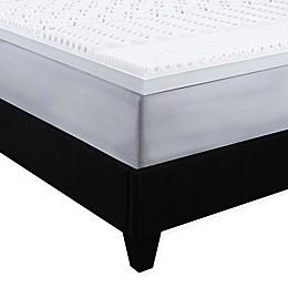 Independent Sleep Convoluted Memory Foam Mattress Topper