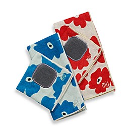 MU Kitchen™ Poppy Kitchen Towel and Dish Cloth