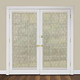 Heritage Lace® Bee 40-Inch Rod Pocket Door Panel in Ecru