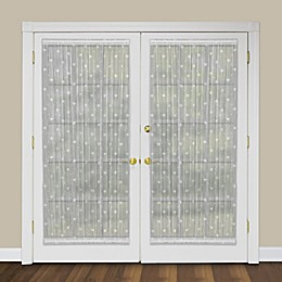 Heritage Lace® Bee Rod Pocket Door Panel