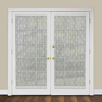 Heritage Lace® Bee Rod Pocket Door Panel