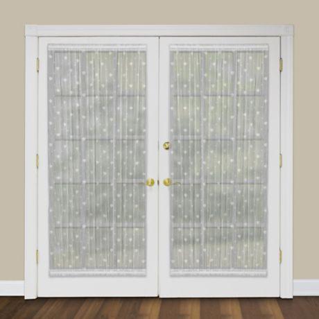 heritage lace bee rod pocket door panel bed bath beyond. Black Bedroom Furniture Sets. Home Design Ideas