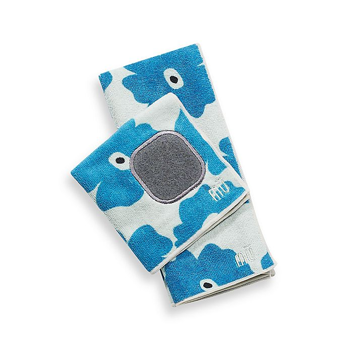 Alternate image 1 for MU Kitchen™ Poppy Kitchen Towel in Blue Poppy