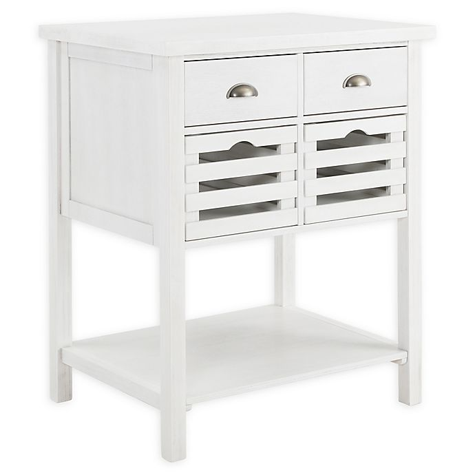 Alternate image 1 for Southern Enterprises Sheldrake Kitchen Island in White