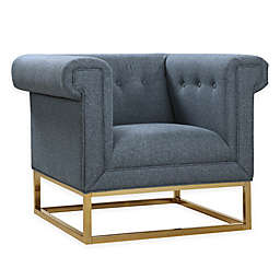Chic Home Linen Upholstered Chair