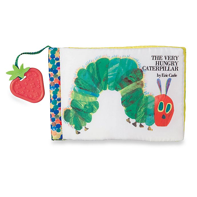 Alternate image 1 for Kids Preferred™ The Very Hungry Caterpillar™ Sensory Soft Book by Eric Carle