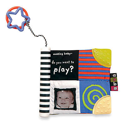 Kids Preferred Sensory Soft Book in Amazing Baby: Do You Want to Play?