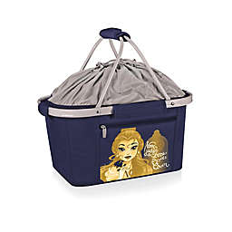 Picnic Time® Disney® Beauty & the Beast Metro Basket Cooler Tote in Navy