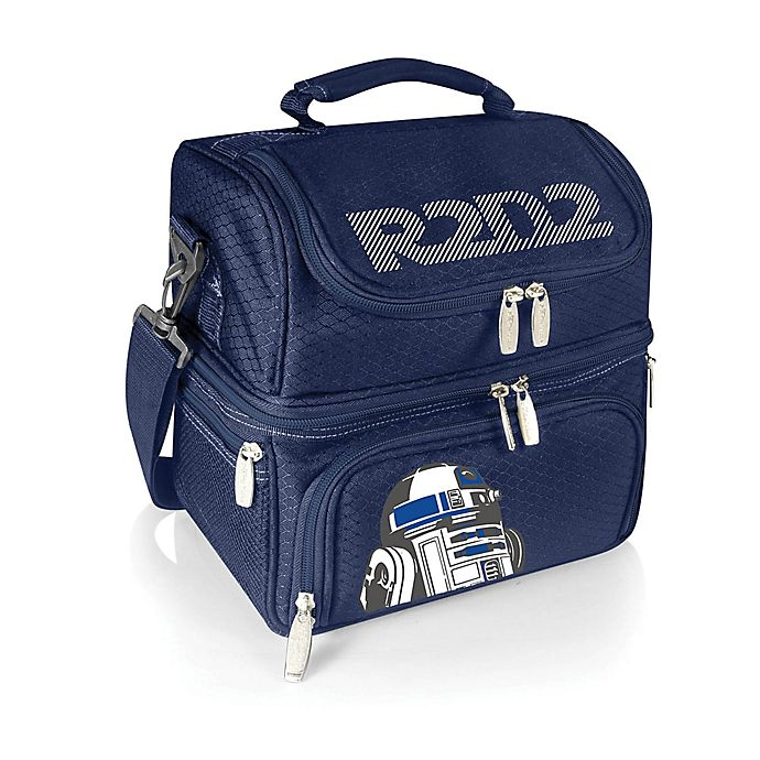 Alternate image 1 for Picnic Time® Star Wars™ R2-D2 Pranzo Lunch Tote in Navy