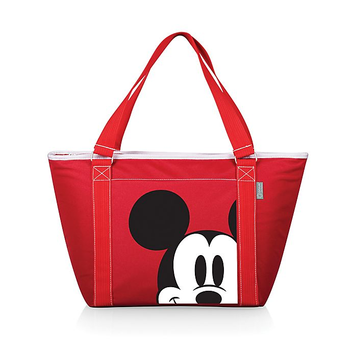 Alternate image 1 for Picnic Time® Disney® Mickey Mouse Topanga Cooler Tote in Red