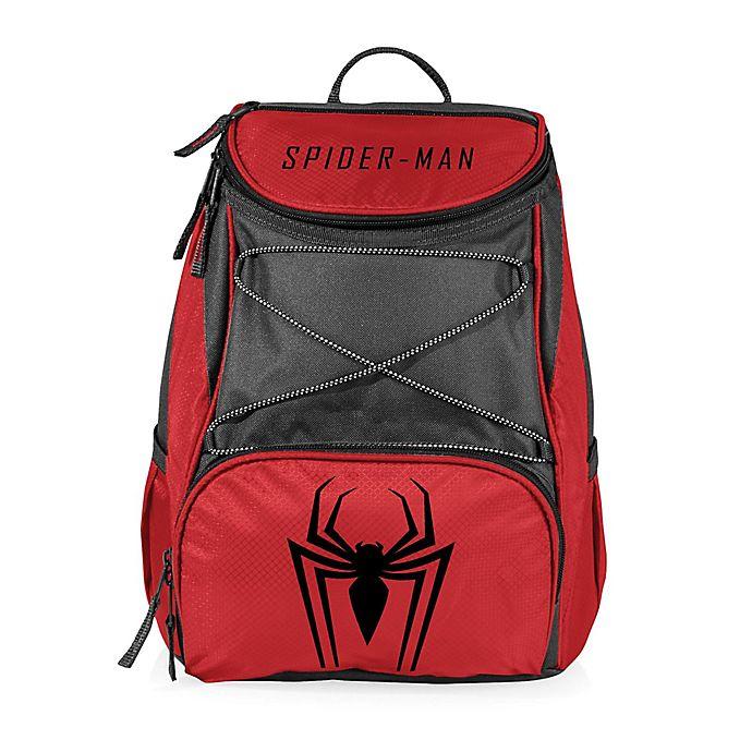 Alternate image 1 for Picnic Time® Marvel® Spider-Man PTX Cooler Backpack in Red